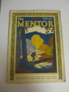 August 1928 Issue The Mentor Howard McCormick Cover
