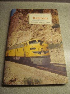American Geographical Society Railroads 1958