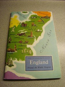 American Geographical Society Around the World England