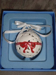 NIB Wedgwood 12 Days of Christmas Partridge First Day