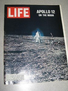 12/12/69 Apollo 12 On The Moon Life Magazine