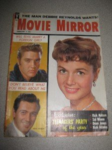 Feb 1959 Movie Mirror Magazine Elvis Rock Hudson
