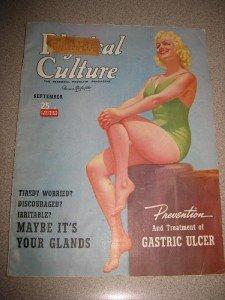 September 1940 Physical Culture Magazine Dionne Quints