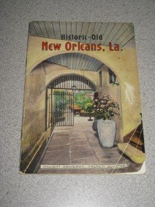 Vintage New Orleans Tourist Guide Book Photos History