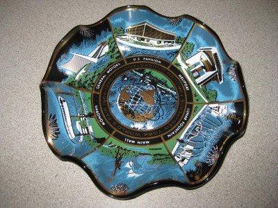 1964-1965 New York Worlds Fair Glass Bowl Houze Art