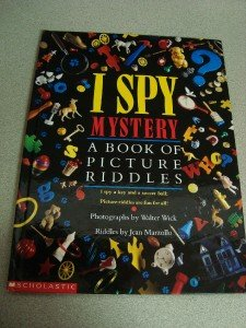 I Spy Mystery Book of Picture Riddles by Jean Marzollo