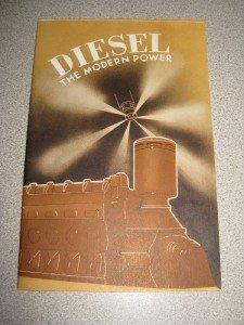 General Motors Corp Booklet 1936 Diesel - Modern Power