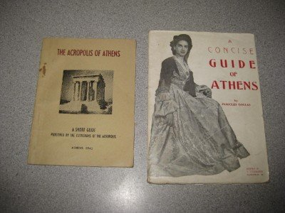 Lot of Two Vintage Guides of Athens Greece Acropolis