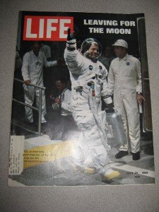Life Magazine July 25, 1969 Leaving For the Moon