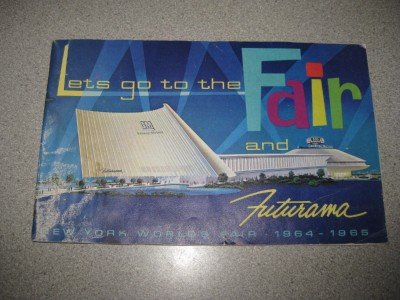 General Motors NY Worlds Fair Futurama Brochure 1964-65