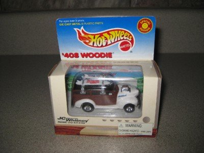 MIB Hot Wheels JC Whitney 40's Woodie Special Ed. 1999