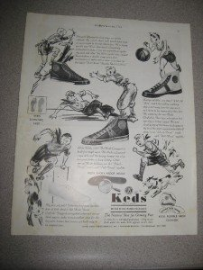 Vintage 1936 Look Magazine Ad Keds Shoes US Rubber Co