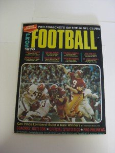 Sports Quarterly The Pros Football 1970 Forecasts