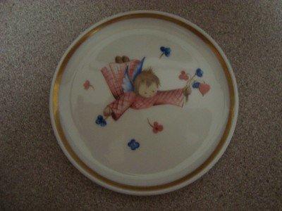 "Berta Hummel Museum 4"" Mini Collector Plate Schmid 1978"