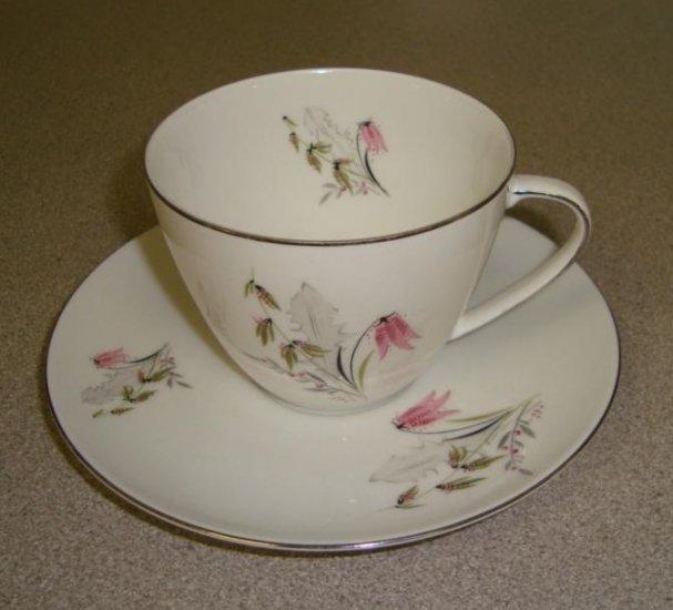 "Royal Duchess Bavaria ""Mountain Bell"" Cup & Saucer"