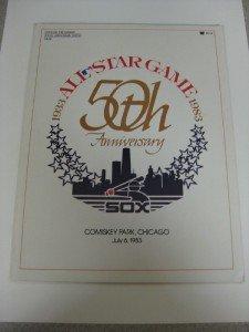 50th Anniversary Baseball All Star Game 7/83  Program