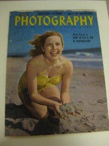 Vintage Popular Photography Magazine August 1946