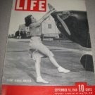 Life Magazine September 16 1940 Flight Across America