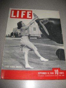 Life Magazine September 16 1940 Flight Across America