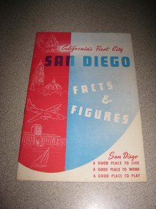 1946 San Diego Facts & Figures Californias 1st City