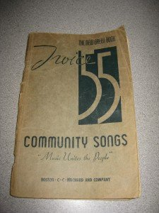 Twice 55 The New Green Book Community Songs Song Book