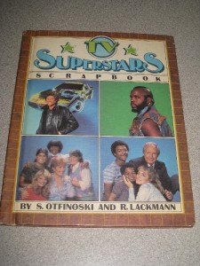 TV Superstars Scrapbook Knight Rider A Team Mr T 1984