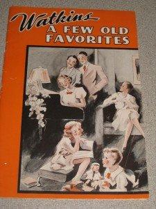 Vintage Watkins Liniment Brochure Songbook
