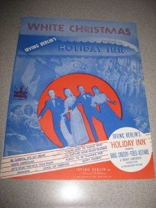 White Christmas Irving Berlin Sheet Music 1942 Crosby