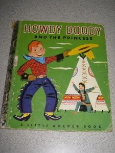 Howdy Doody and the Princess Golden Book 1952