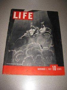 Life Magazine November 1 1937 Broadway Stock Market Ads