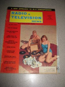 August 1956 Radio Television News Electronics Magazine