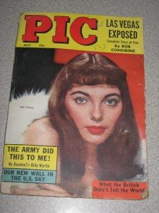Pic Magazine July 1955 Joan Collins Cover