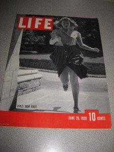 Life Magazine June 16, 1939 Girls New Fads George Petty