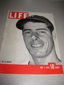 Life Magazine May 1, 1939 Joe DiMaggio Cover