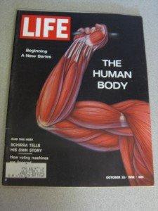 10/26/1962 Life Magazine Human Body Wally Schirra