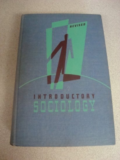 Vintage Textbook Introductory Sociology 2nd Ed. 1940