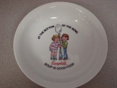 Campbell's Soup Bowl Anchor Dinnerware Japan