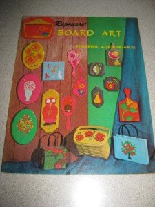 1969 Repousse' Board Art A Dough-Ables Book Retro Cool