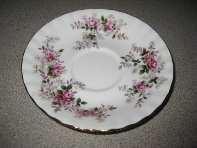 Royal Albert Lavender Rose Saucer 1961