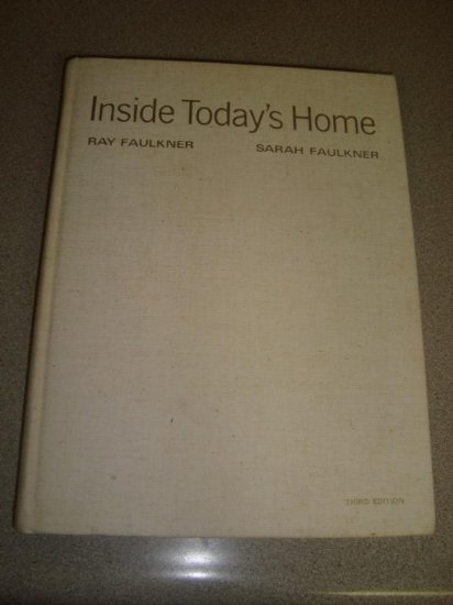"Vintage Design Textbook ""Inside Today's Home"" Eames 60s"