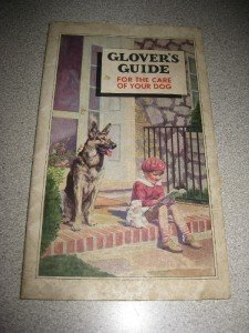 Vintage 1934 Glovers Guide For the Care of Your Dog