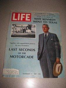 Life Magazine Nov 24, 1967 Why Kennedy went to Texas