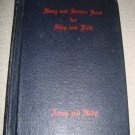 1942 Song & Service Book for Ship & Field Army Navy