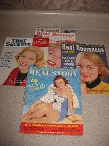 Lot 4 True Secrets Real Romances Real Story Magazines