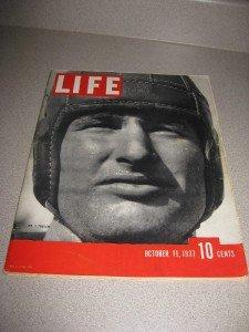 Life Magazine October 11,1937 Football Xrays Myrna Loy