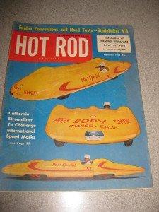Hot Rod Magazine September 1952 Calif Streamliner Stude