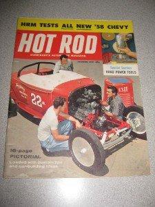 December 1957 Hot Rod Magazine 58 Chevy Test