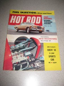 Hot Rod Magazine March 1957 Golden Hawk, Chevy V8
