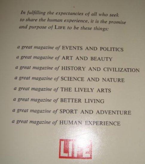 1961 Life Magazine  The Promise & Purpose of Life