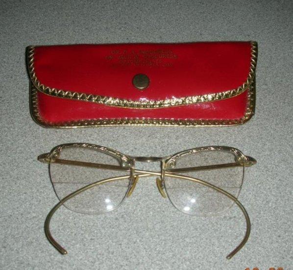 Vintage 12K Gold Filled American Optical Eyeglasses